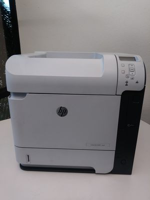 600 M602 Laser Printer Hp LaserJet 600 M602 USB 2.0/NETWORK/ ETHERNET Printing Speed up to 52 Pages Per Minute. for Sale in Phoenix, AZ