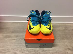 Nike KD VI Sonic Yellow/Navy Size 9.5 for Sale in Washington, MD