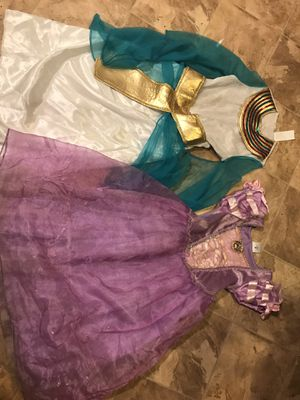 Halloween Costumes Rapunzel/ Cleopatra Free for Sale in Westminster, CA