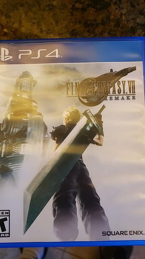 Final fantasy 7 remake ps4 for Sale in West Linn, OR