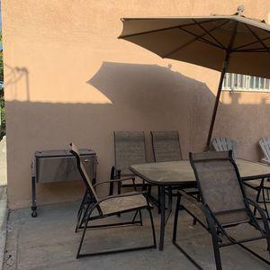 Patio Set for Sale in Pico Rivera, CA