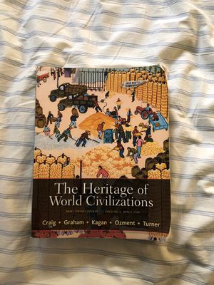 The Heritage of World Civilizations Brief 5th Edition for Sale in Anaheim, CA