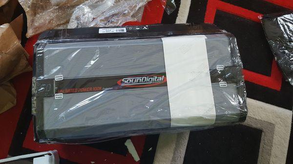 SOUNDIGITAL AMPLI 100K  HV 100 000 mrs WATS for Sale in Boston, MA - OfferUp