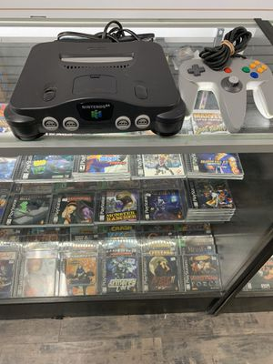 Nintendo 64 Complete $55 Gamehogs 11am-7pm for Sale in East Los Angeles, CA