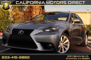 2016 Lexus IS 200t for Sale in Stanton, CA