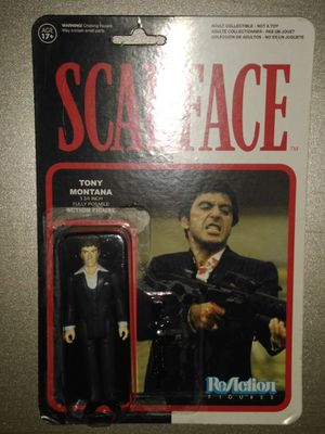 "Collectible Scarface Action Figure ""Tony Montana"" for Sale in Garland, TX"