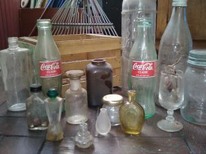 Antique glass bottles for Sale in Riverside, CA