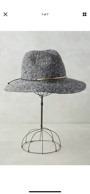 Anthropologie Rancher Nubby Grey Summer Hat for Sale in Alhambra, CA