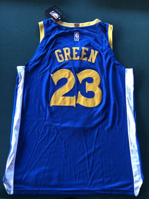 Warriors Jersey Green Large for Sale in Fresno, CA