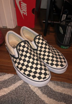 Brand New Vans Check Slip On Shoes for Sale in Los Angeles, CA