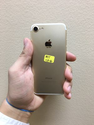 iphone 7 128gb AT&T Cricket, iPhone for Sale in Dallas, TX