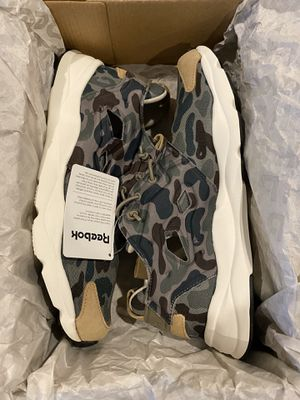 Men's Reebok Furylite Camo / New in Box / Size: 9 / Pick-up in Cedar Hill / Shipping Available for Sale in Cedar Hill, TX