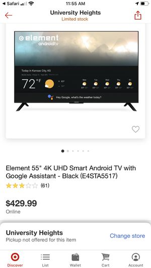 Brand new still box 55 inch smart tv 4K for Sale in Bedford, OH