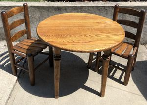 Kids wooden table & chairs. for Sale in Greensburg, PA
