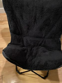 Foldable Black Chair for Sale in Seattle,  WA