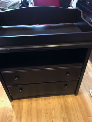 Espresso changing table for Sale in Lake View Terrace, CA