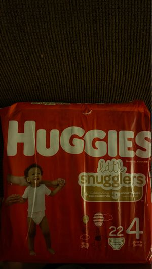 Huggies diapers size 4 (2 available) $5 each for Sale in Dallas, TX