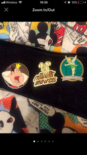 Disney Pin Bundle: Tink, Minnie Red Queen for Sale in Riverside, CA