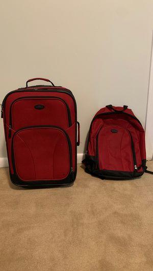 US traveler carry on roller bag and matching backpack for Sale in Plantation, FL