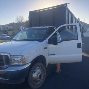 2002 F-550 Dump Truck With 7.3 Diesel for Sale in Portland, OR