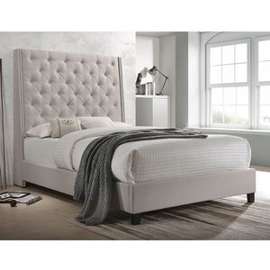 Tall Upholstered Bed Frame for Sale in Virginia Beach, VA