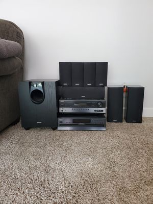 10 piece Onkyo Entertainment Set for Sale in Lisle, IL