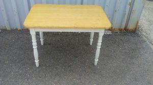 kids wood table for Sale in Draper, UT