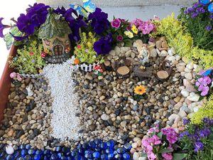 Miniature mini fairy garden succulent arrangements for Sale in Montclair, CA