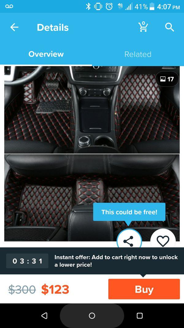 Audi A4 /A6 floor matts for 2009-2013 A4/A6