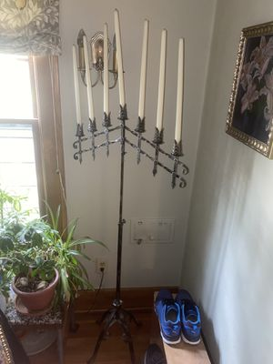 Two candelabras, wrought iron for Sale in Denver, CO