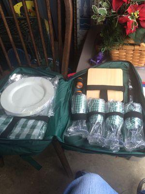 Backpack style picnic basket for Sale in Manassas, VA