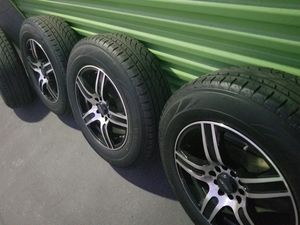 Rines 16 d 5 lugs universales for Sale in Long Beach, CA