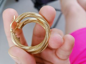 Argollas de oro 10 k for Sale in Wahneta, FL