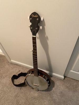 Fender 5 string banjo for Sale in Fort Lauderdale, FL