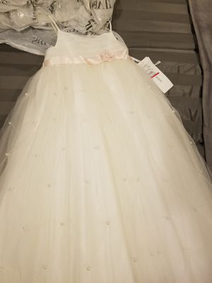 Girls bridal dress for Sale in Rolling Hills, CA