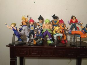 Banpresto Dragonball Z/Super figures for Sale in Phoenix, AZ