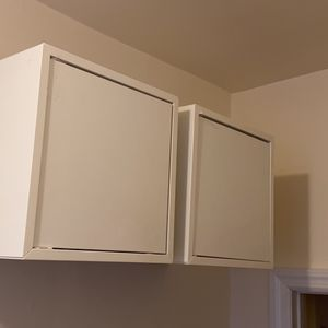 Floating Shelves With Door And Hardware IKEA Storage for Sale in New York, NY