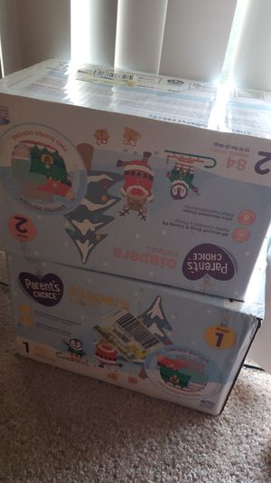 Parents choice diapers for Sale in North Lauderdale, FL