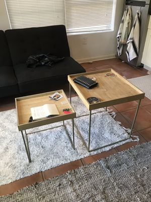vintage coffee tables (pair) for Sale in Coral Gables, FL