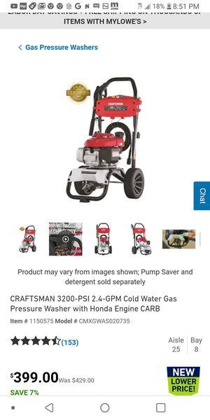 Brand new Craftman 3200 psi pressure washer for Sale in Stockton, CA
