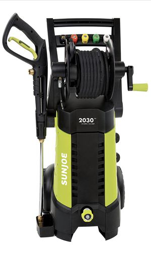 Sun Joe SPX3001 2030 PSI 1.76 GPM 14.5 AMP Electric Pressure Washer with Hose Reel, Green for Sale in North Plainfield, NJ