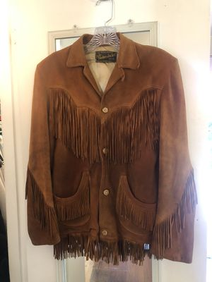 Vintage Deerskin Jacket for Sale in Tacoma, WA