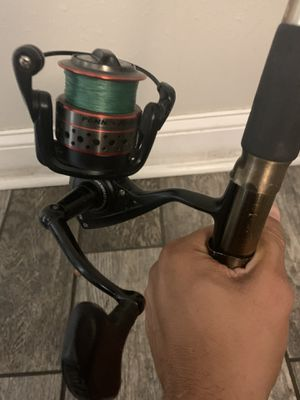 Penn Fierce 3000 Fishing Reel and Rod Combo for Sale in Tampa, FL