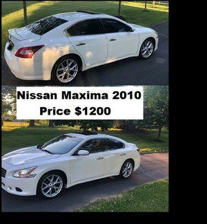 ֆ12OO_2010 Nissan Maxima S for Sale in Valencia, CA