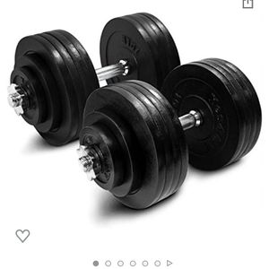 New 100 Lb X 2 Total 200lb Adjustable Dumbbells Workout Weights for Sale in Los Angeles, CA