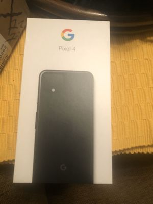 Google Pixel 4 for Sale in Chicago, IL