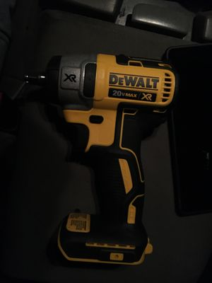 Brand new never used 20V DeWalt XR impact wrench. Tool only. No battery. No charger for Sale in Pasadena, TX