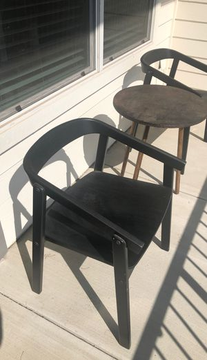 Danish Style Wooden Chairs for Sale in Austin, TX