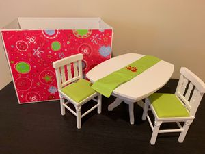 American girl doll dining room set for Sale in North Huntingdon, PA