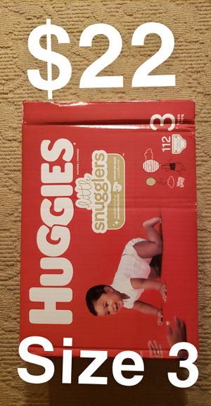 Huggies Diapers Size 3 $22 for Sale in ROWLAND HGHTS, CA